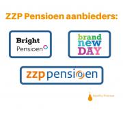 Pensioenaanbieders voor ZZP'ers (BrandNewDay, BrightPensioen en ZZP Pensioen van Loyalis)
